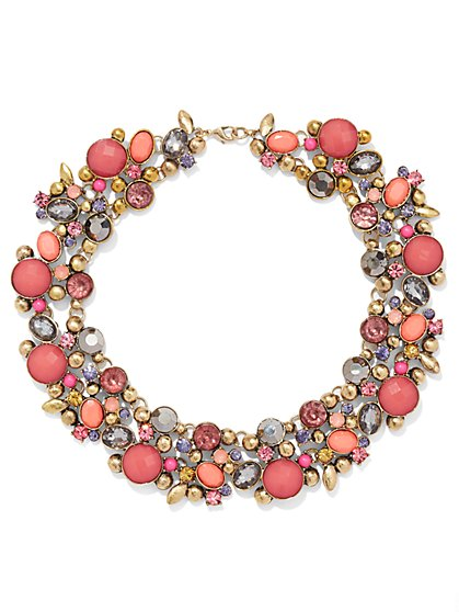NY Accents - Cluster Collar Necklace  - New York & Company