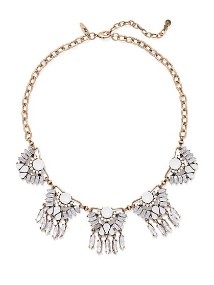 NY Accents - Glittering Bib Necklace  - New York & Company