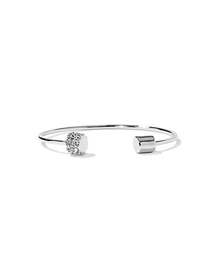 NY Accents - Pavé Cuff Bracelet  - New York & Company