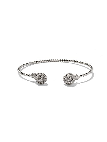 NY Accents - Pavé Fireball Twist Bracelet  - New York & Company