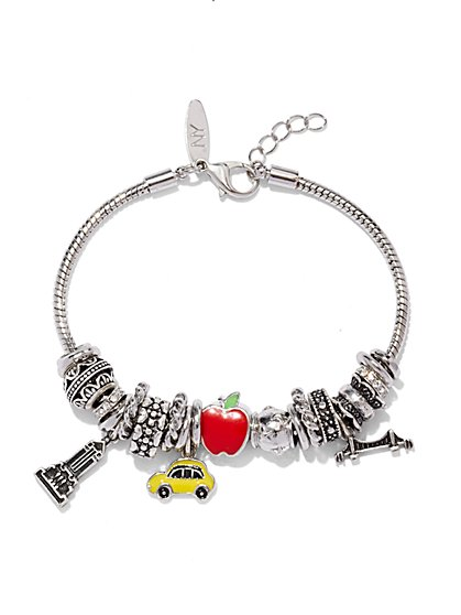 NY Bracelet & Charms Set  - New York & Company