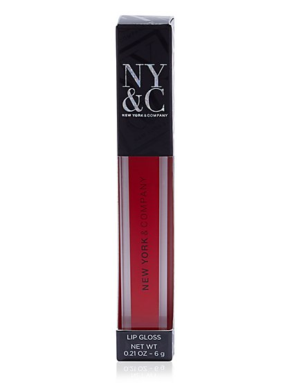 NY&C Beauty - Lip Gloss - Medium Red