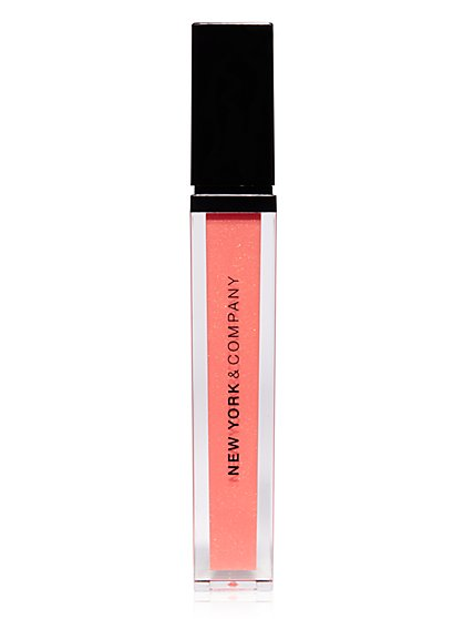 NY&C Beauty - Lip Gloss - Sugar Peach