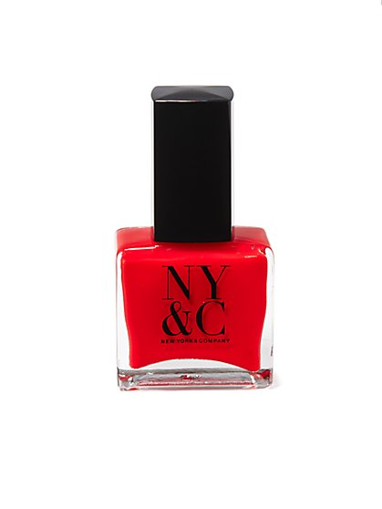 NY&C Beauty - Nail Polish - Blush Berry Red - New York & Company