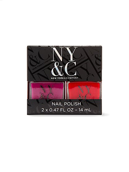 NY&C Beauty - Nail Polish - Set of Two - New York & Company