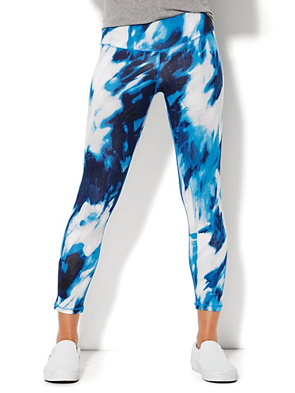 NY&C Velocity - Capri Legging - Tie-Dye  - New York & Company