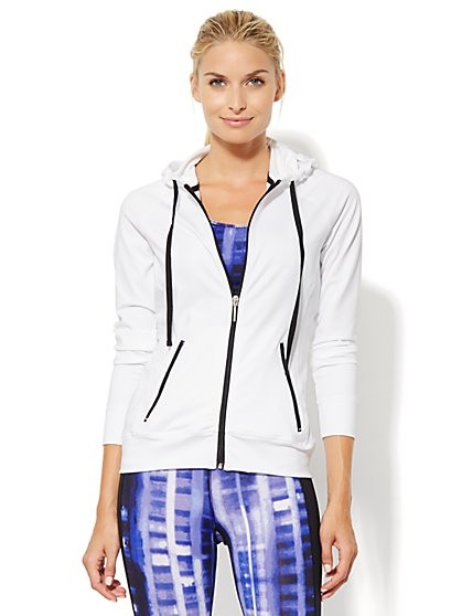 NY&C Velocity - Contrast-Trim Jacket  - New York & Company