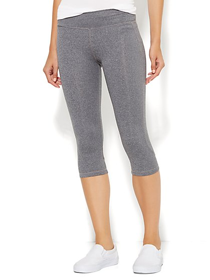 NY&C Velocity - Crop Legging - Eclipse Heather  - New York & Company