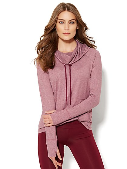 NY&C Velocity - Funnel-Neck Top  - New York & Company