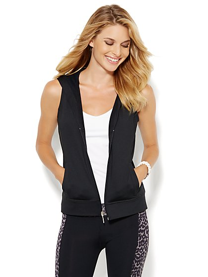 NY&C Velocity - Hooded Vest - New York & Company