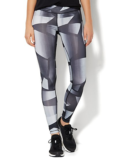 NY&C Velocity - Legging - Graphic Print   - New York & Company