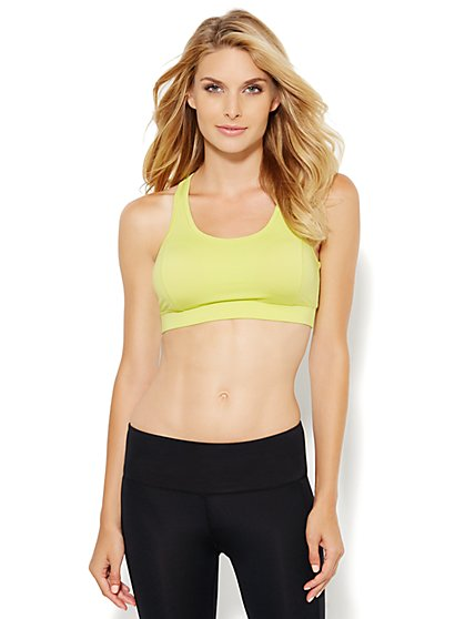 NY&C Velocity - Racerback Sports Bra - New York & Company