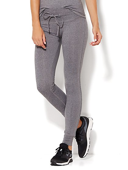 NY&C Velocity - Slim Sweatpant - Eclipse Heather  - New York & Company