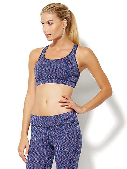 NY&C Velocity - Sports Bra - Tie-Dye  - New York & Company