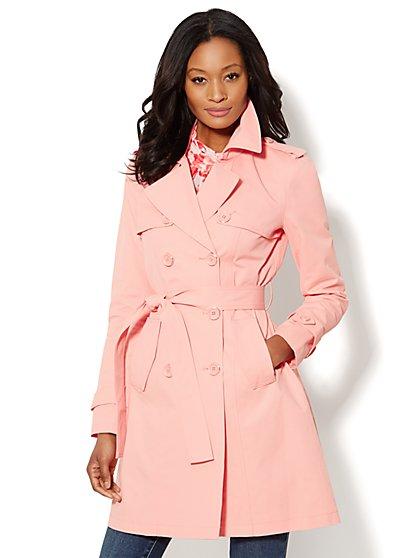 NY Trench Coat – Double-Breasted - New York & Company