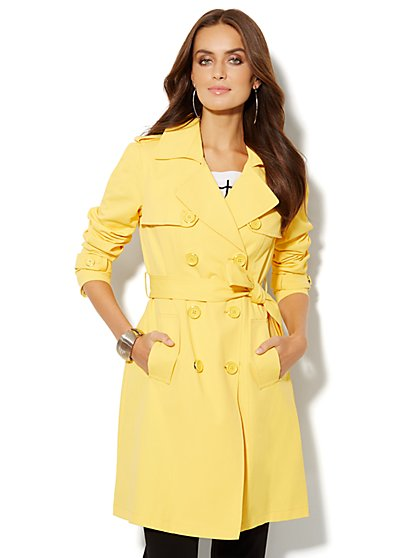 NY Trench Coat – Double-Breasted - New York & Company