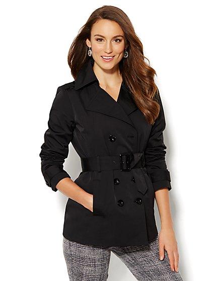 NY Trench - Short Coat - New York & Company