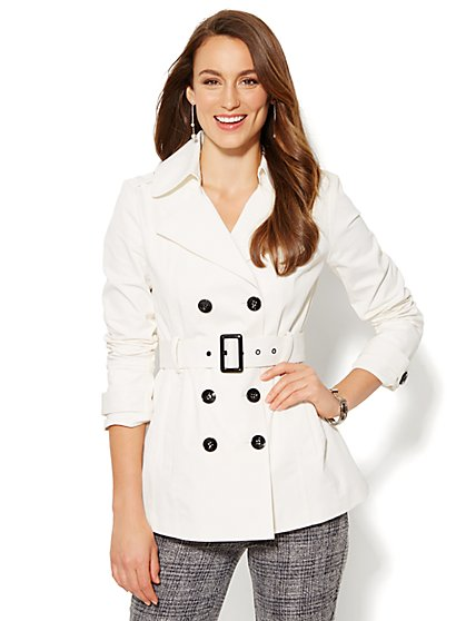 NY Trench - Short Coat - New York & Company
