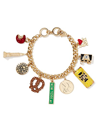 NYC Charm Bracelet  - New York & Company