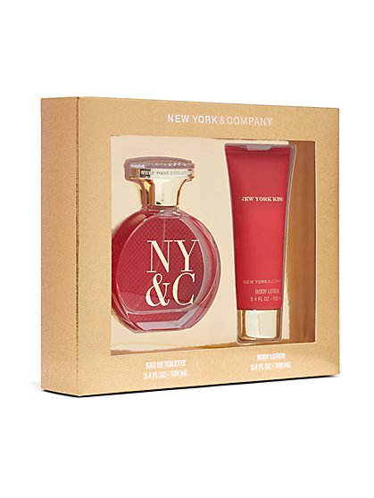 New York Kiss Fragrance Gift Set  - New York & Company