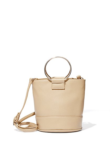 O-Ring Bucket Bag  - New York & Company