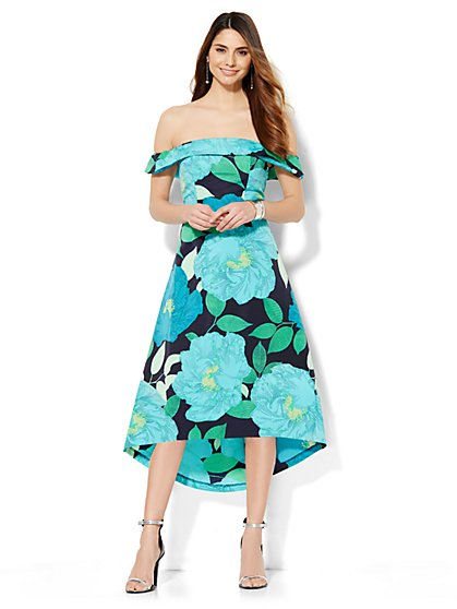 Off-the-Shoulder Dress  - New York & Company