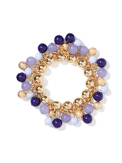 Ombré-Baubles Stretch Bracelet