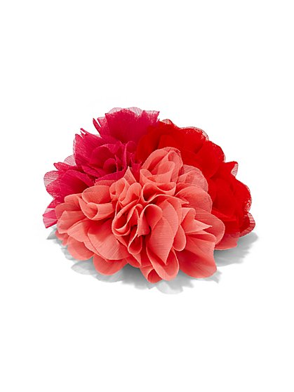Ombré Floral Pin  - New York & Company