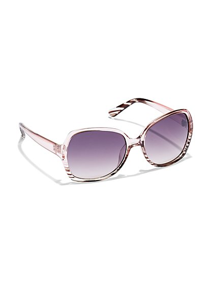 Ombré Stripe Sunglasses - New York & Company