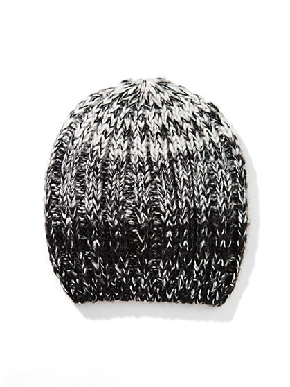 Ombre Cable Hat  - New York & Company