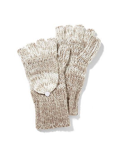 Ombre Fingerless Gloves - New York & Company