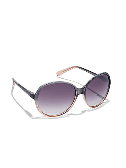 Ombre Gradient-Lens Sunglasses  - New York & Company