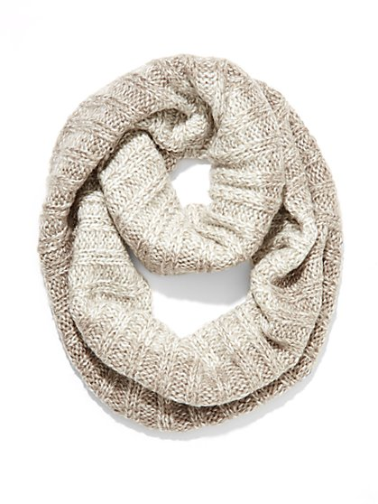 Ombre Marled Infinity Scarf  - New York & Company