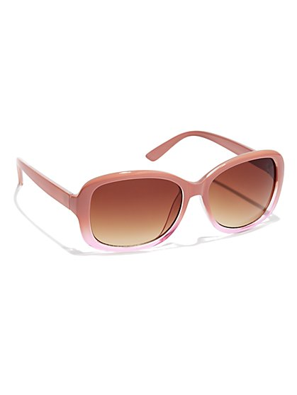 Ombre-Trim Sunglasses