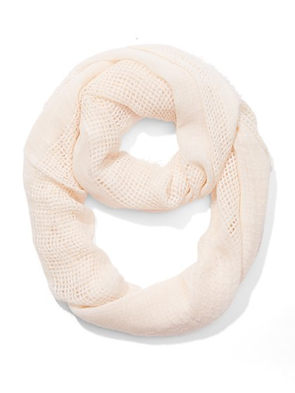 Open-Knit Infinity Scarf - New York & Company