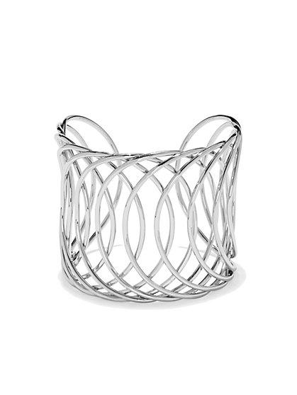Openwork Cuff Bracelet  - New York & Company