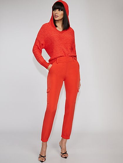 Orange Slim Cargo Pant - Gabrielle Union Collection - New York & Company