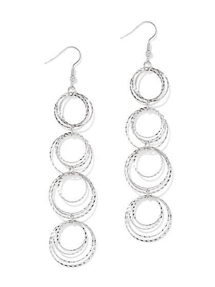 Orbital Linear Drop Earring  - New York & Company