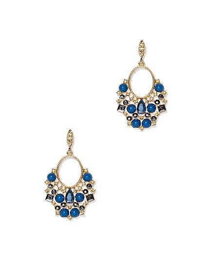 Ornate Chandelier Earrings  - New York & Company