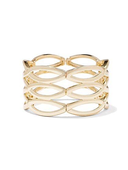 Oval Cutout Bracelet  - New York & Company