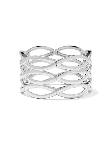 Oval Cutout Bracelet  - New York & Company