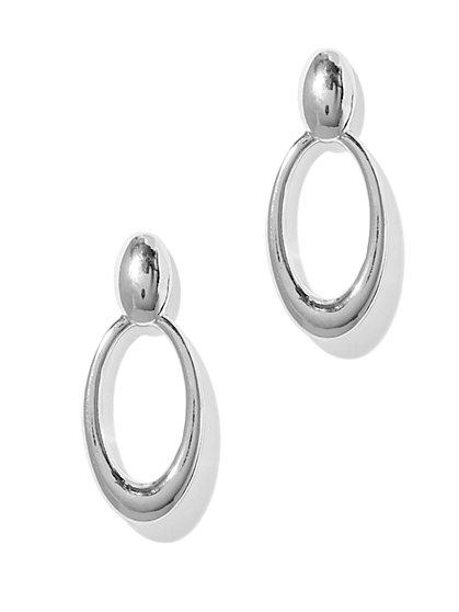 Oval Drop Earring - New York & Company
