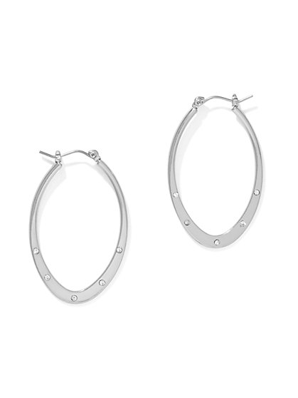 Oval Hoop Earring  - New York & Company