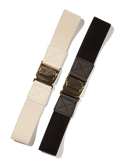 Oval-Interlock Stretch Belt