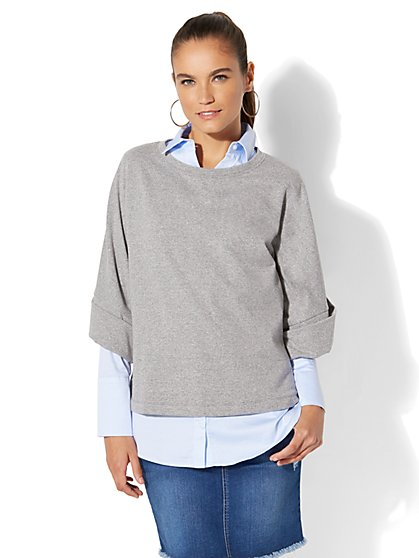 Oversized Sweatshirt - New York & Company