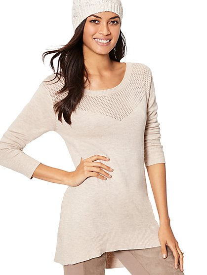 Park Avenue Tunic Sweater - New York & Company