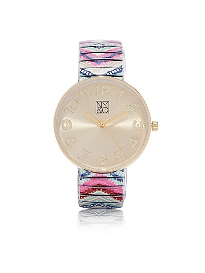 Pastel Aztec Watch  - New York & Company