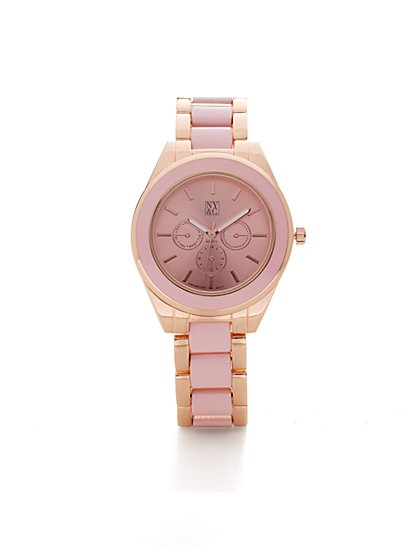 Pastel Link Watch - New York & Company