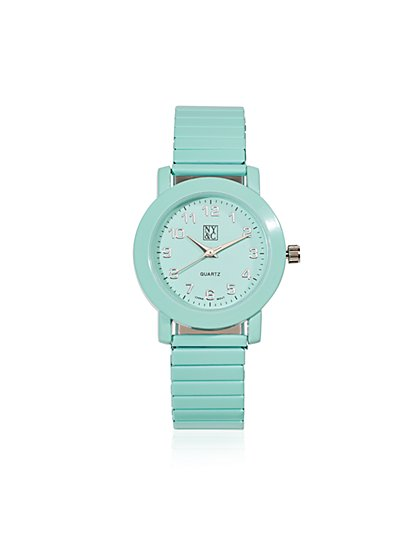 Pastel Stretch Bracelet Watch  - New York & Company