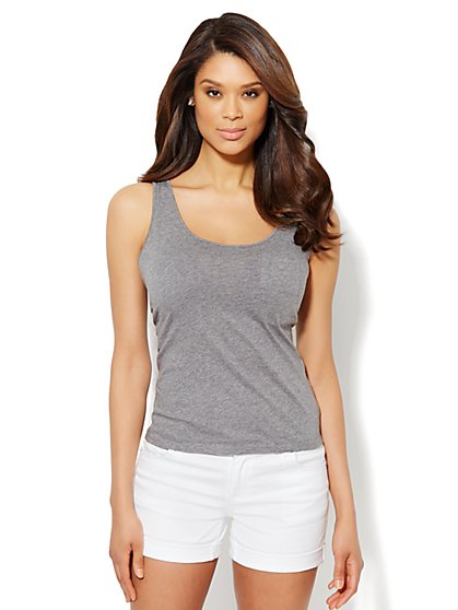 Patch Pocket Tank Top